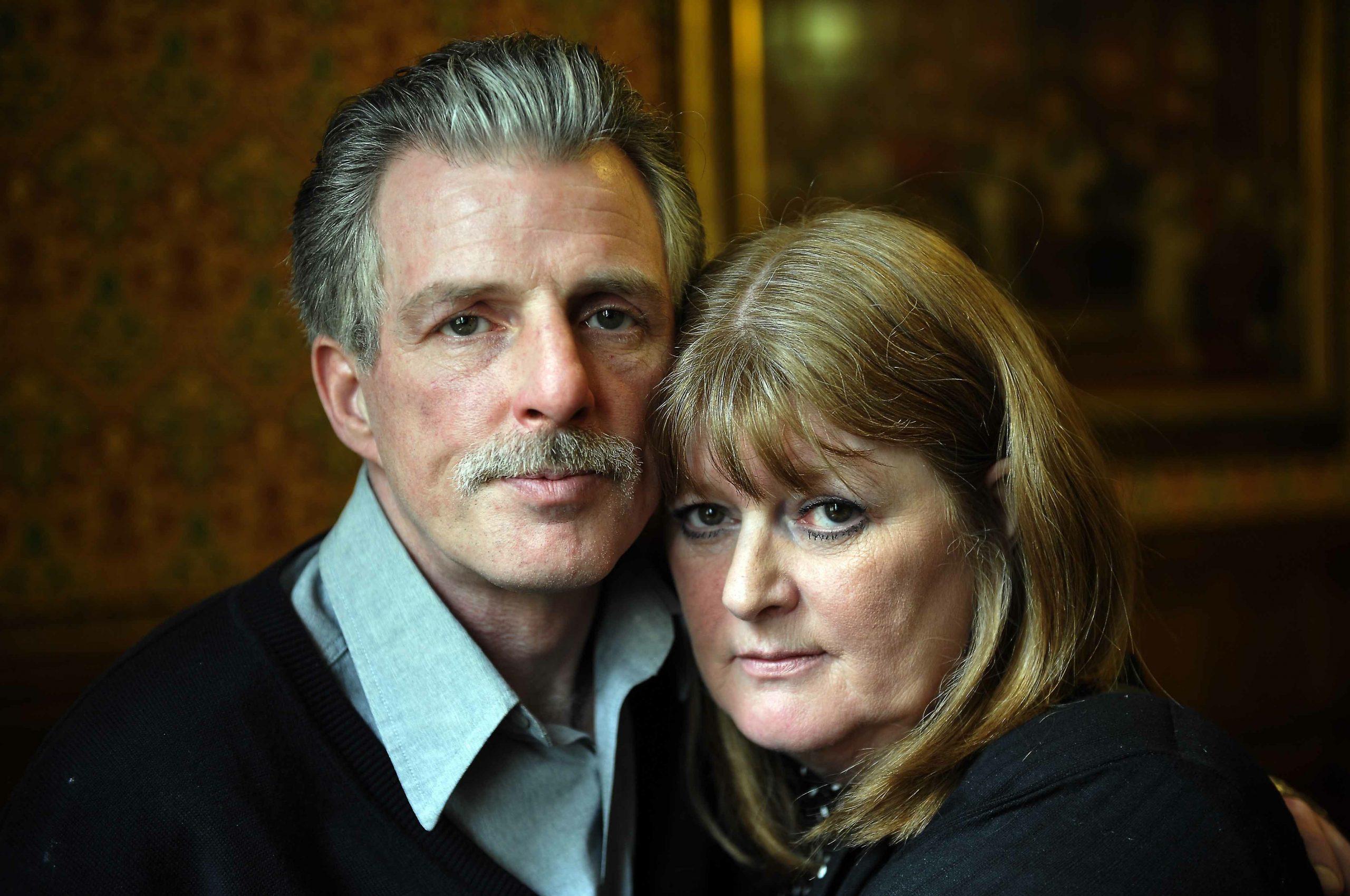 Eddie Gilfoyle - with his sister Sue Caddick