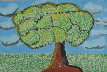 Koestler- Tree - HM Prison Durham, Pastels