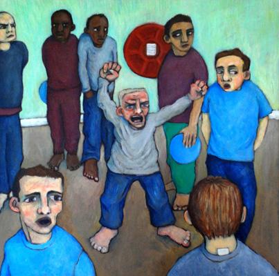 "Koestler award- ""Kvetch - HMP Grendon, Buckinghamshire, Ariane Bankes Outstanding Award for Oil_Acrylic Painting 2008"""