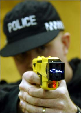 Police five times more likely to use force on black people and eight times more likely to use  tasers