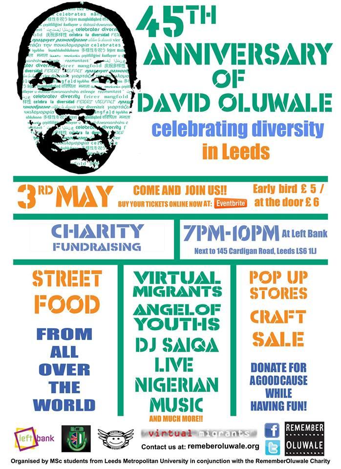David Oluwale poster