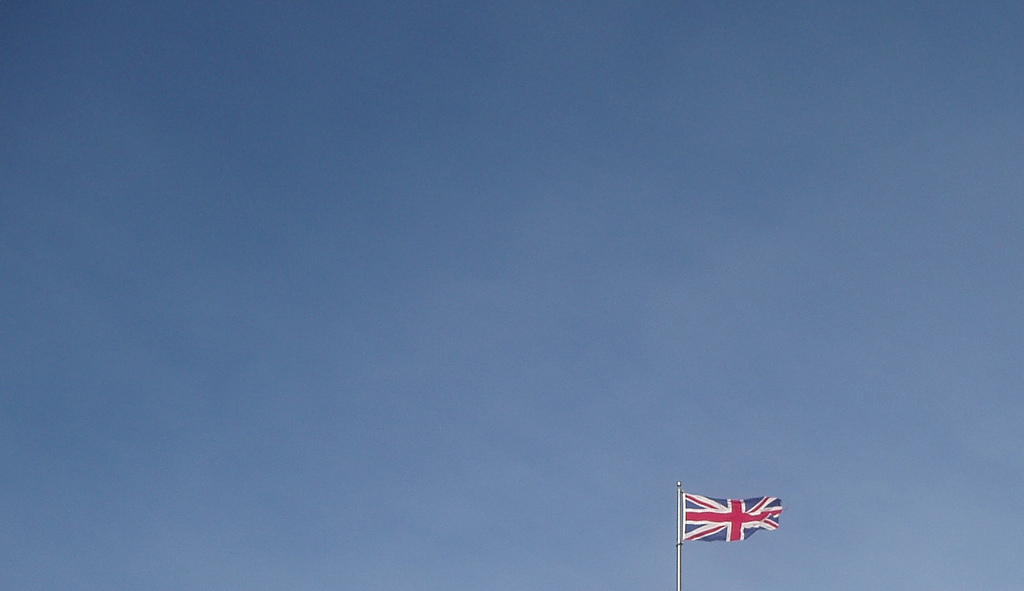 Union Jack. Pic by Dave King (Flickr, creative comms)