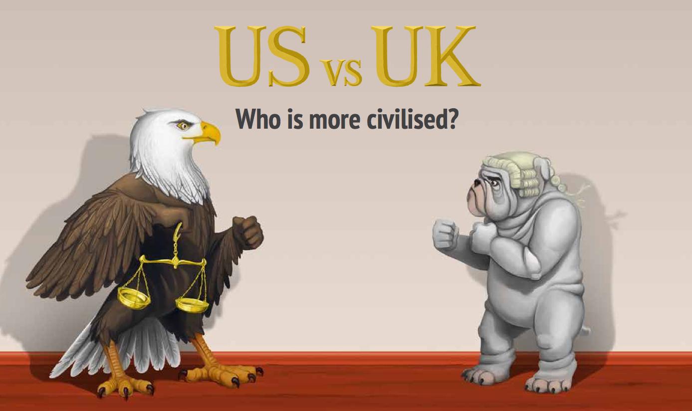 US v UK