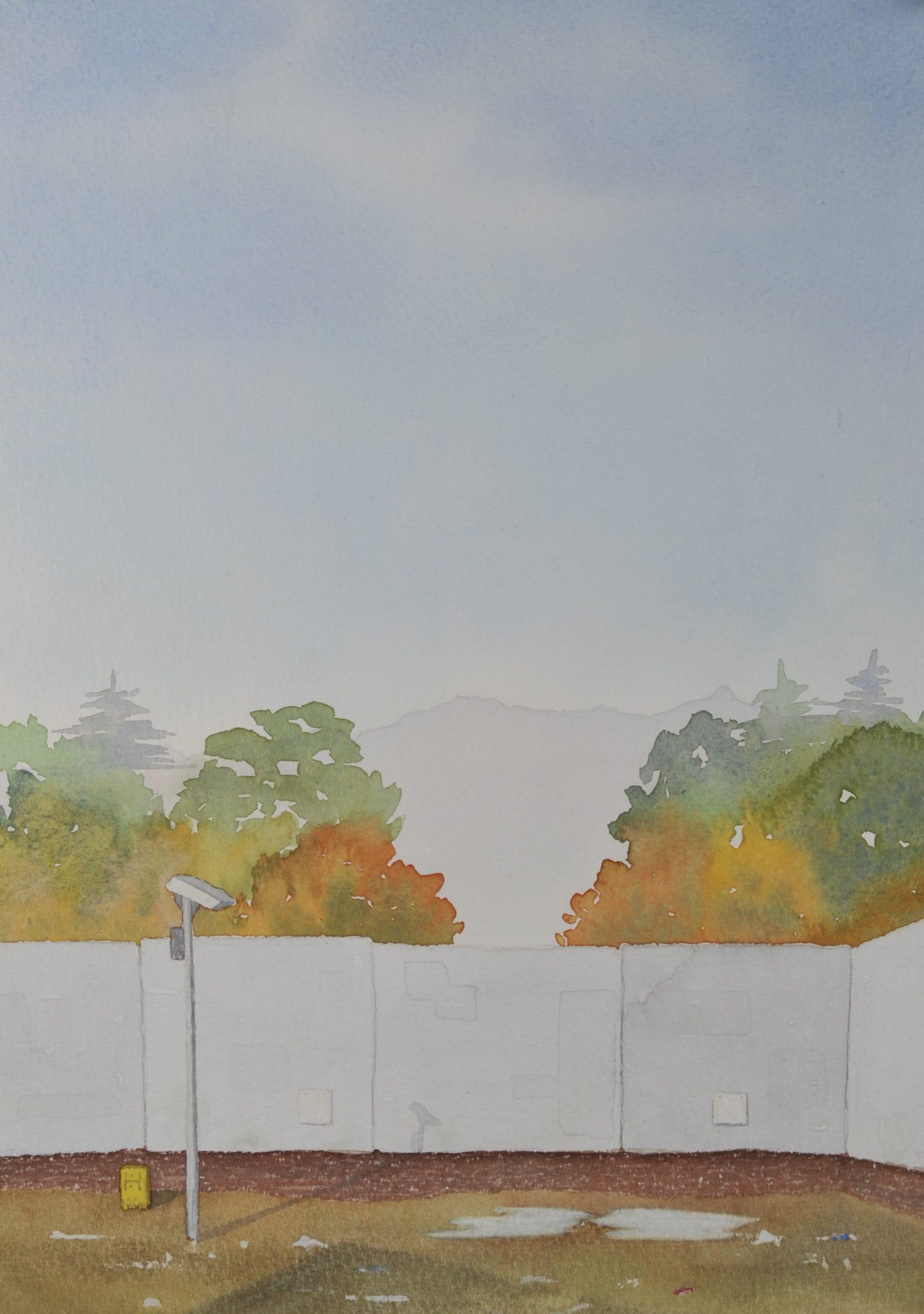 Beyond the Wall, HMP Glenochil, Scotland Gold Award for Watercolour