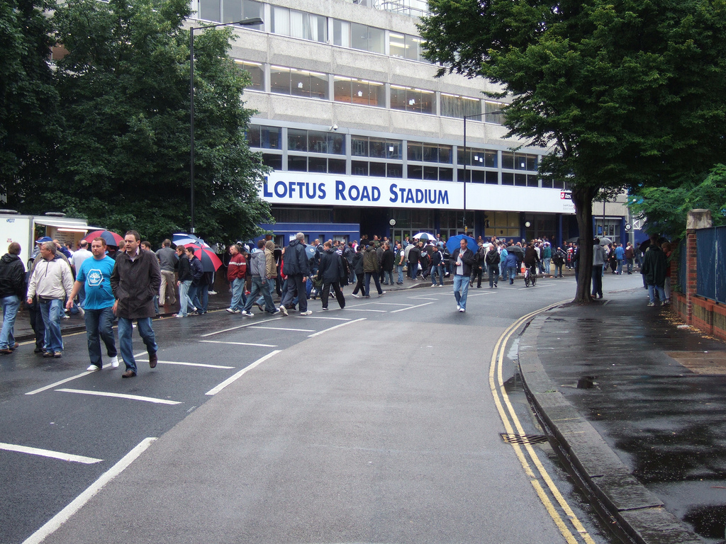 Loftus Road, by Ben Sutherland, under Creative Comms