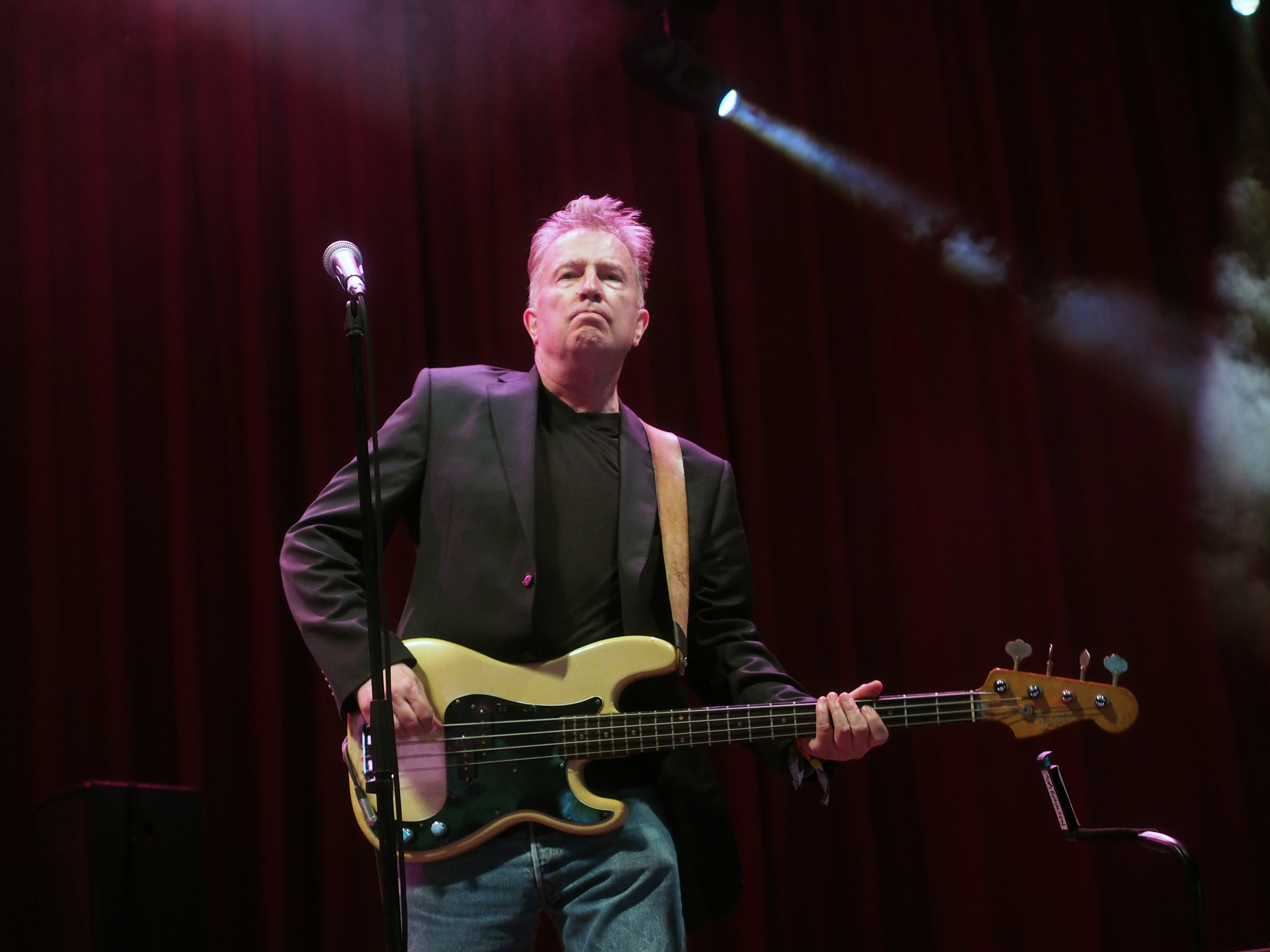 Tom Robinson and band Glastonbury June 2015