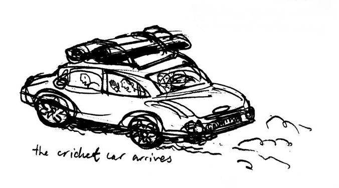 calais cricket car