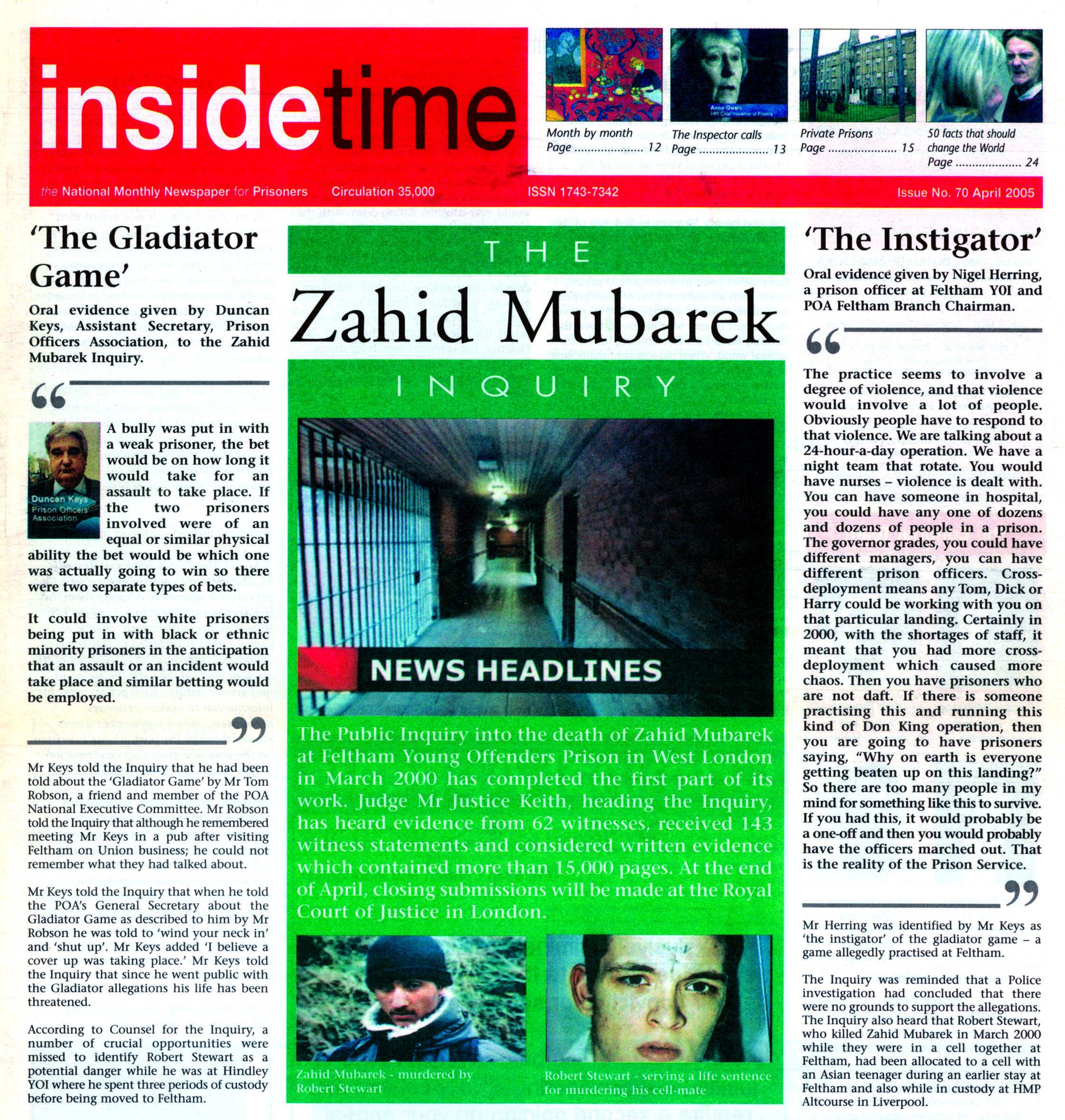 Inside Time April 2005