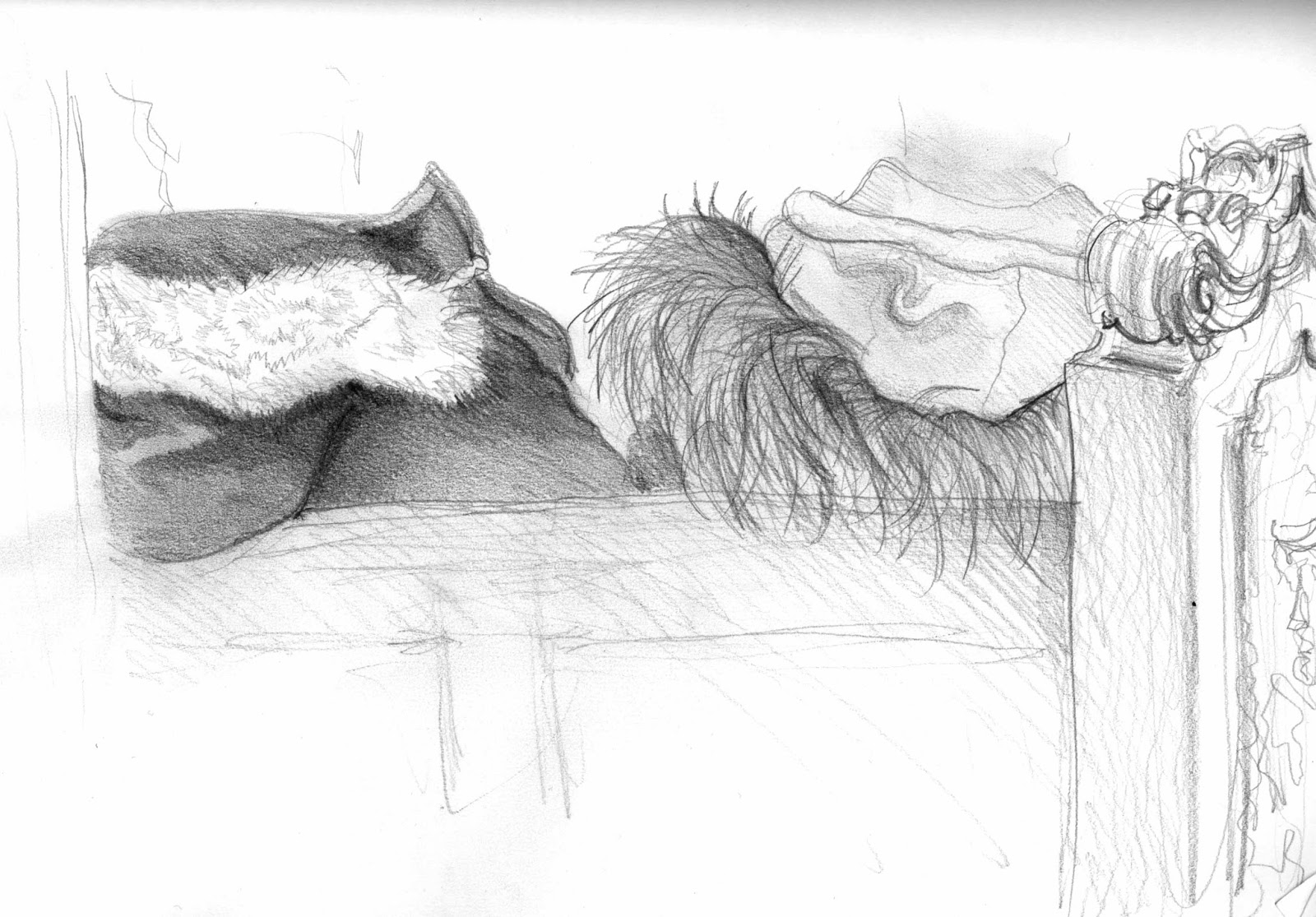 Sketch by Isobel Williams, R v Jogee, www.isobelwilliams.blogspot.co.uk