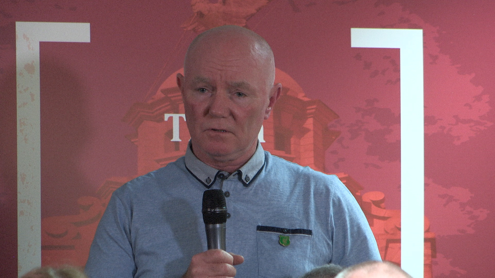 Steve, brother of Michael Kelly, at last week's press conference