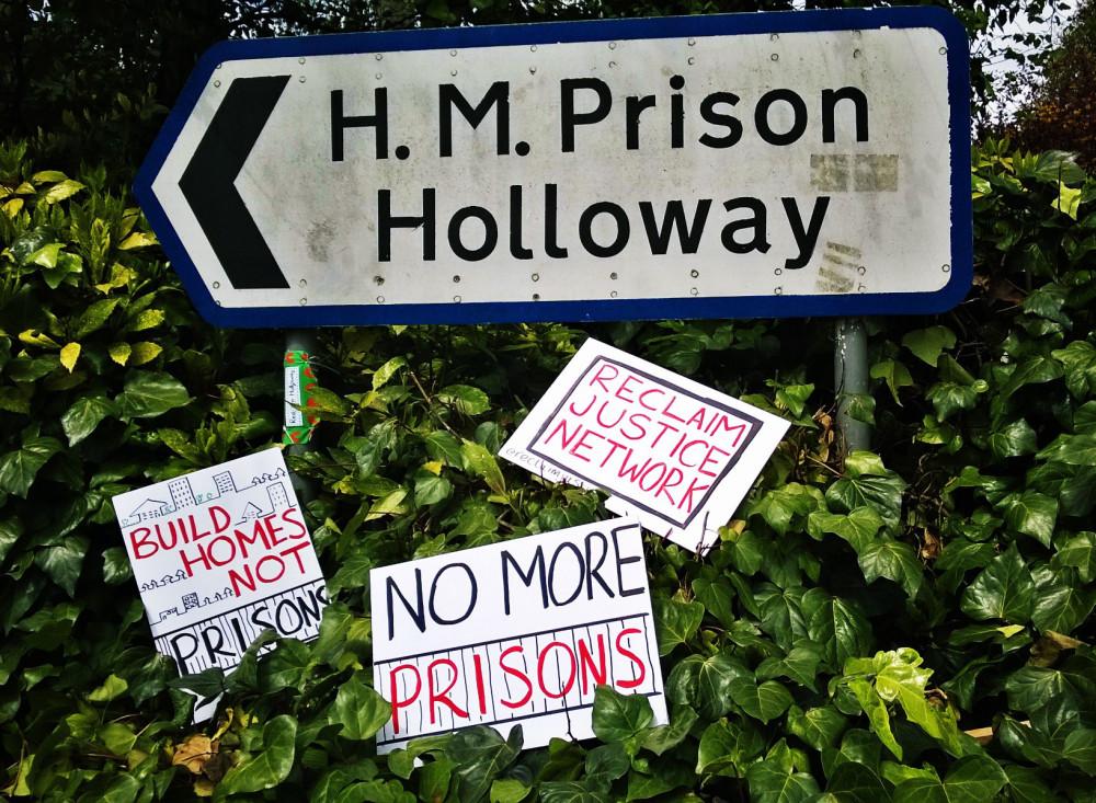 HMP Holloway demo 3