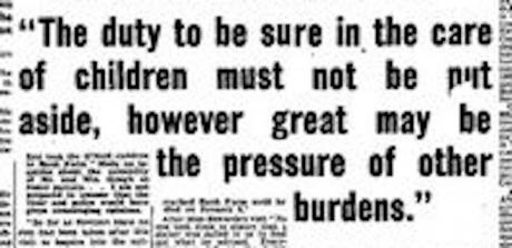 Daily Mirror, May 1945, quoting from the Monckton report