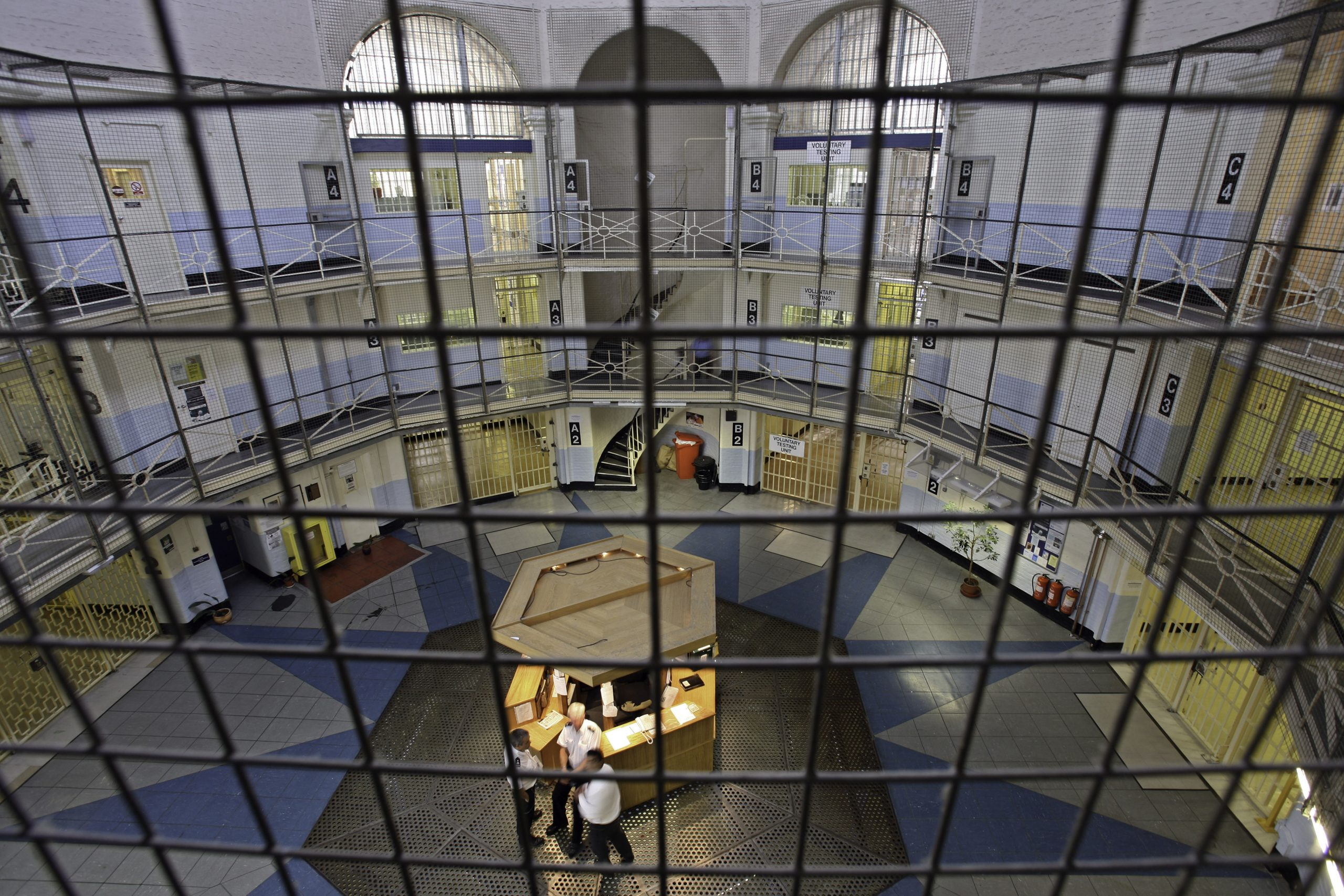 HMP Wandsworth: Pic by Andy Aitchison