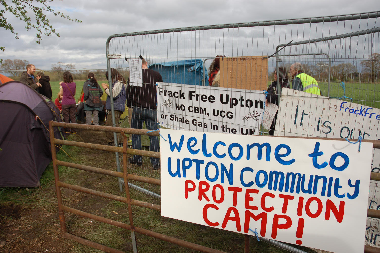 The policing of anti-fracking protests 'violent' and 'unpredictable', according to monitoring group