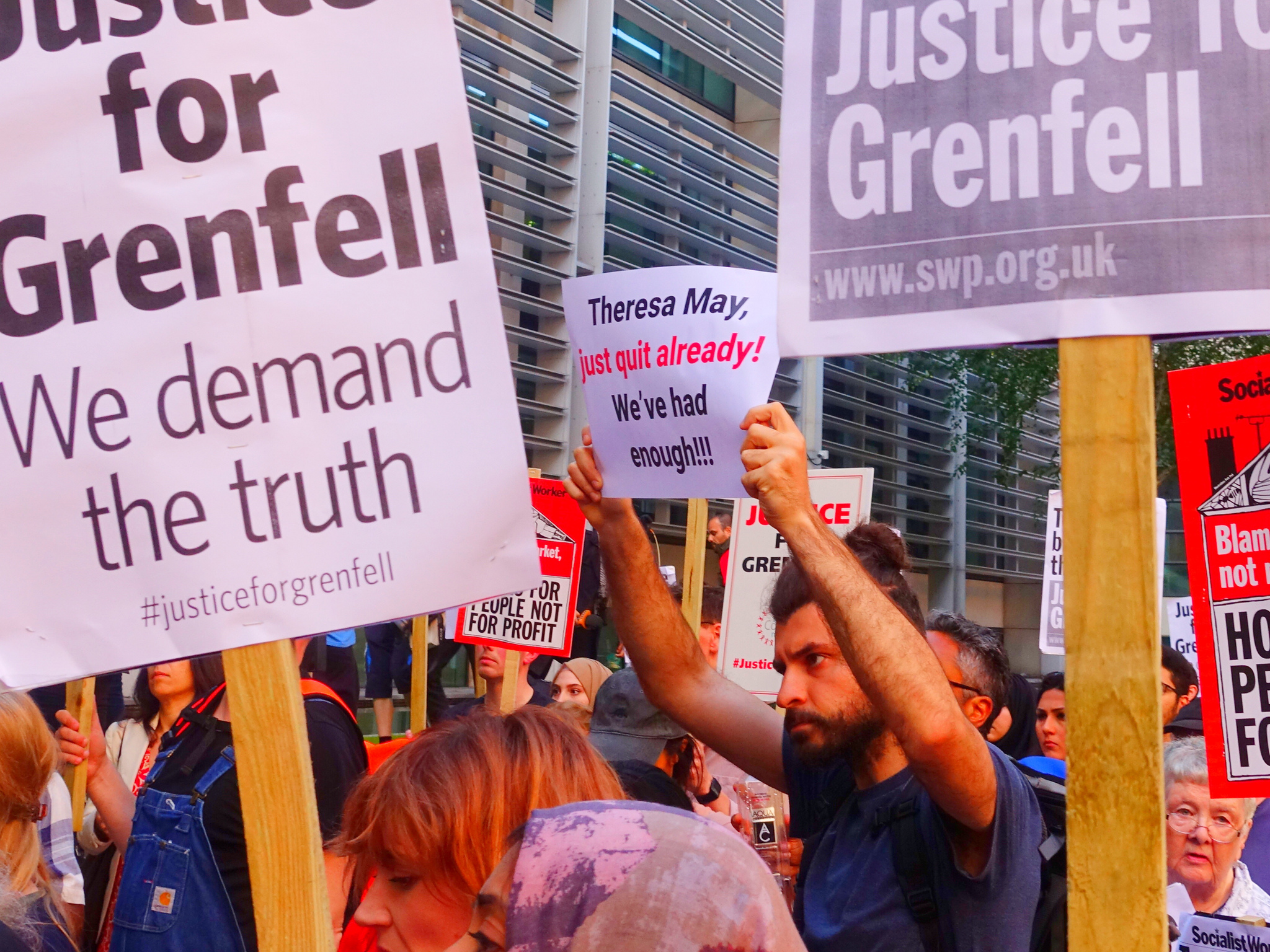 Director of Grenfell company steps down