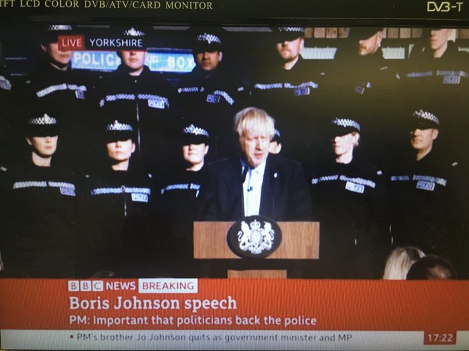 Boris goes low