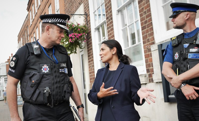Priti Patel vetoes asylum claim in legal first