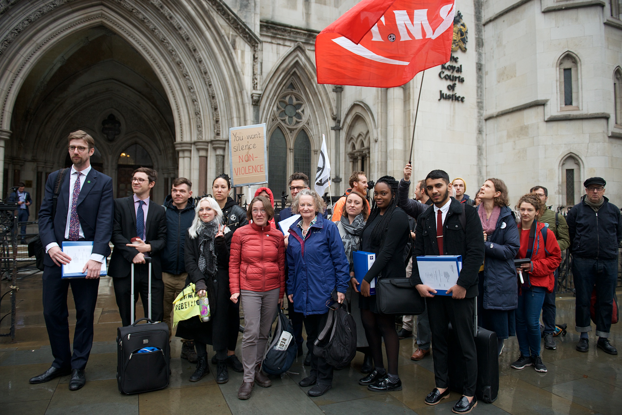 Climate change protesters win High Court challenge against the police