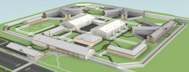 Covid-19 update: More than a thousand prisoners share cells at Welsh 'super prison'