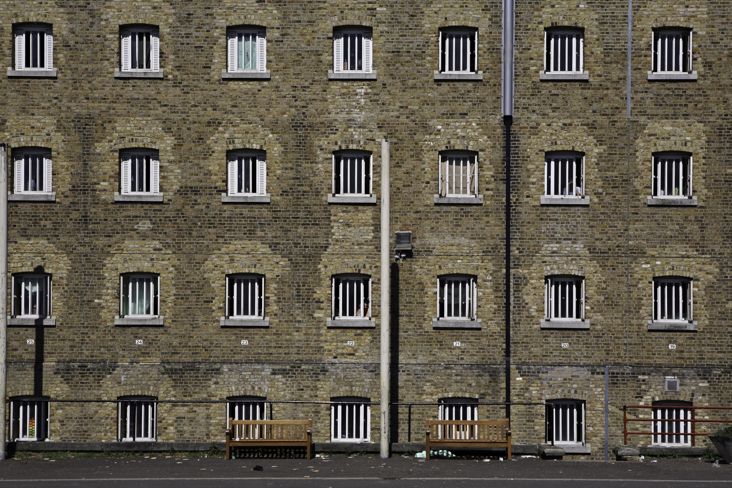 One in five prisoners out of their cells for less than two hours a day