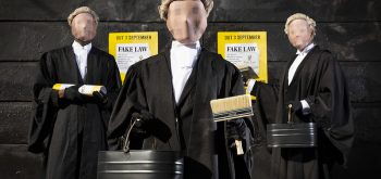 Secret Barrister takes on 'fake law' and the 'lies and spin' of press and politicians