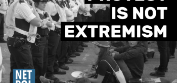Police to drop 'domestic extremism' label to describe protest
