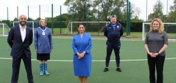 Priti Patel says mingling 'illegal' under 'Rule of Six'