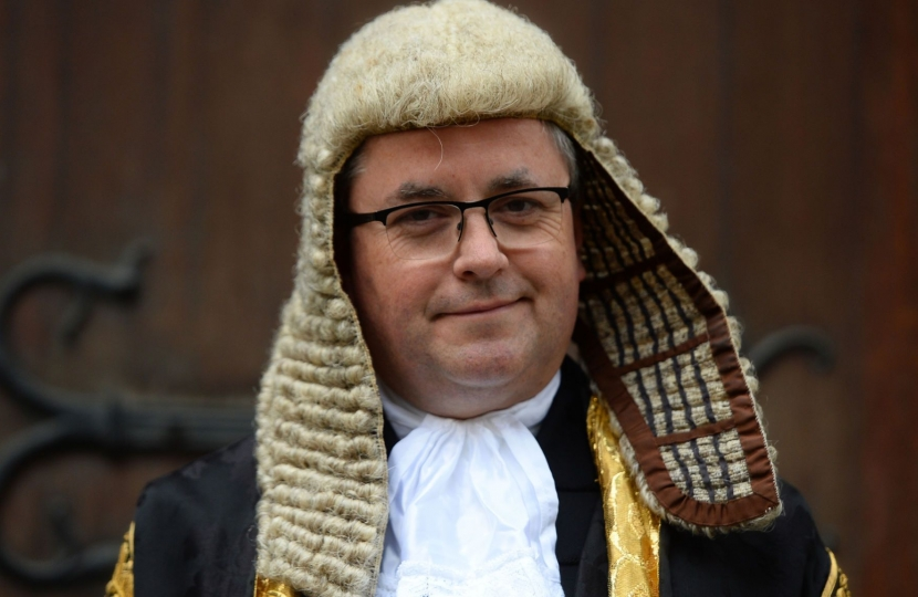 RB Justice Secretary