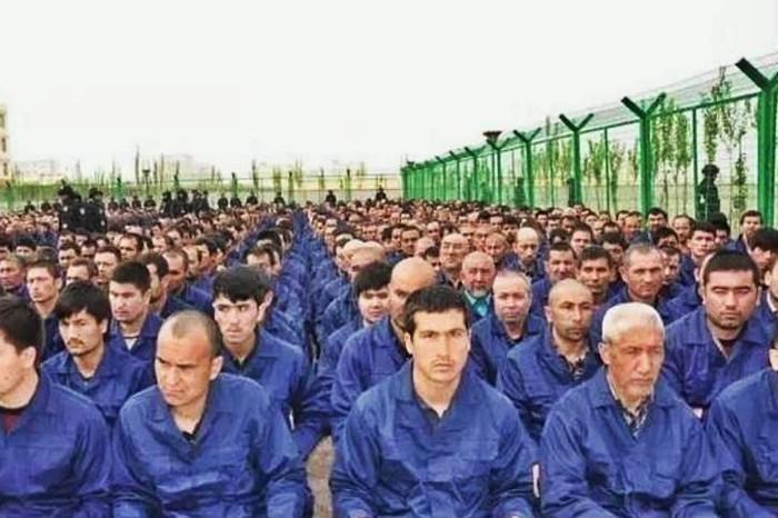 Uyghur re-education camp in Xinjiang