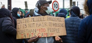 Asylum seekers held in barracks because better accommodation would 'undermine public confidence'