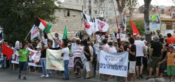 Sheikh Jarrah and equality in Israel