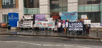 Protest at the Royal College of Psychiatrists 'endorsing' segregation units