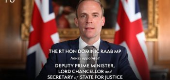 Raab promises to 'correct' European human rights rulings
